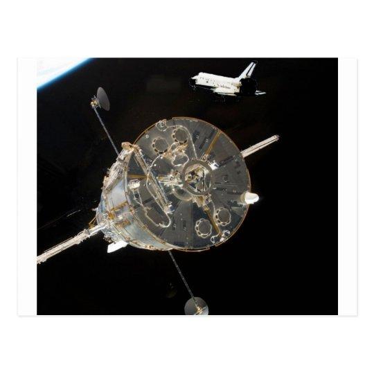 Space Shuttle SkyLab Postcard