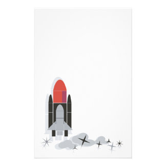 Space Shuttle Stationery Paper
