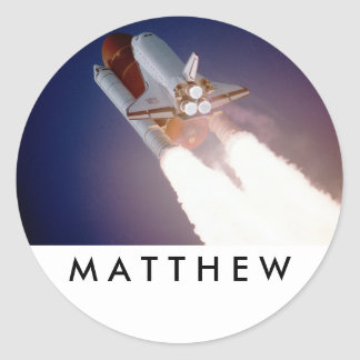 Space Shuttle Stickers