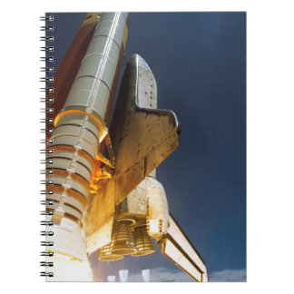 Space Shuttle take off Spiral Notebook