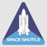 Space Shuttle Triangle Stickers