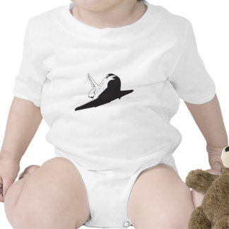 Space Shuttle Baby Bodysuits