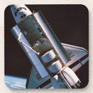 Space Shuttle with Open Cargo Bay Coaster