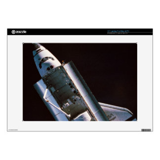 Space Shuttle with Open Cargo Bay Decal For Laptop