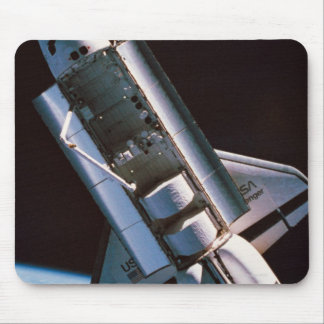 Space Shuttle with Open Cargo Bay Mouse Pad