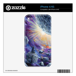 Space Skins For The iPhone 4