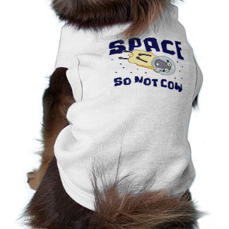 Space So Not Cow Sheep Pet Clothing