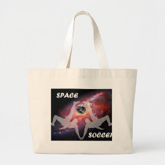 SPACE SOCCER. LARGE TOTE BAG