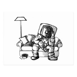 Space sofa postcard
