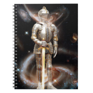 Space Soldier Spiral Notebook
