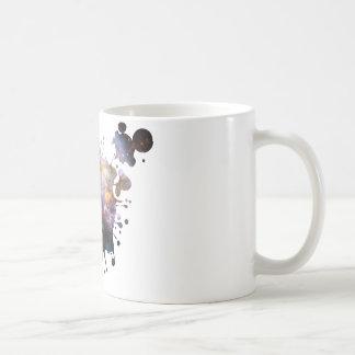 Space Splatter Coffee Mug
