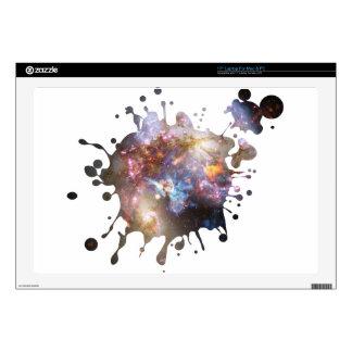 Space Splatter Laptop Skins