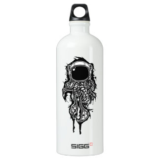 space squid water bottle