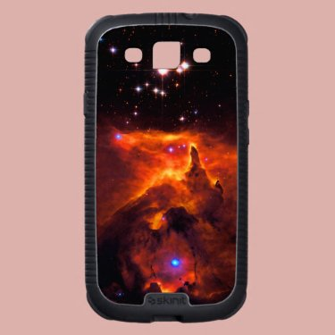 Space Star Cluster in Scorpius backdrop Galaxy SIII Cover