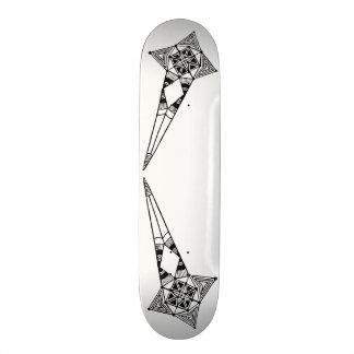 Space star fish - skateboad tribal star boho style skateboard deck