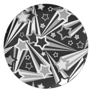 Space Stars Black Plate