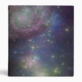 Space, stars, galaxies and nebulas 3 ring binder