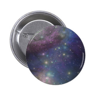 Space, stars, galaxies and nebulas button