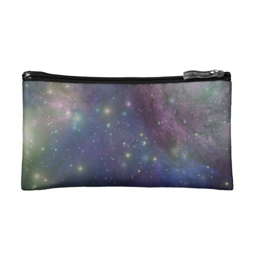 Space, stars, galaxies and nebulas cosmetic bags