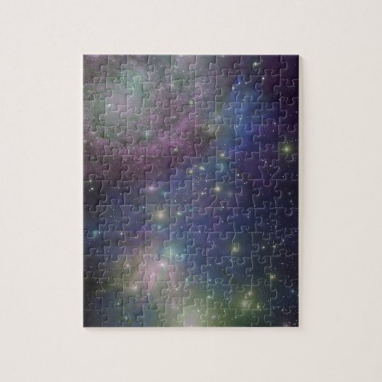 Space, stars, galaxies and nebulas jigsaw puzzle