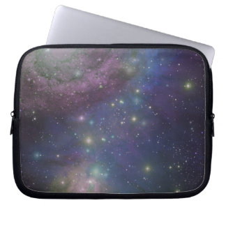 Space, stars, galaxies and nebulas laptop sleeve