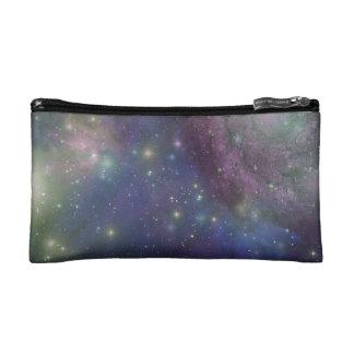 Space, stars, galaxies and nebulas makeup bag