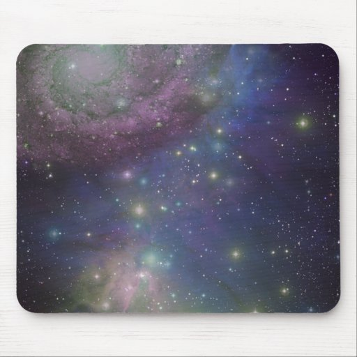 Space, stars, galaxies and nebulas mousepads