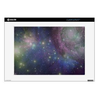 Space, stars, galaxies and nebulas laptop skins