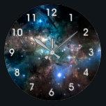 "SPACE STARS LARGE CLOCK<br><div class=""desc"">SPACE STARS</div>"