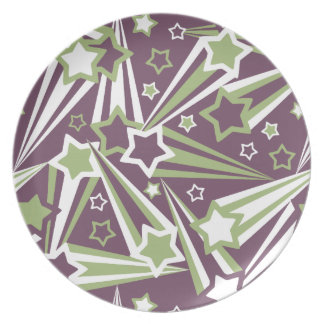 Space Stars Plate