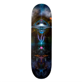 Space Station Ansarious Skateboard With Hardware