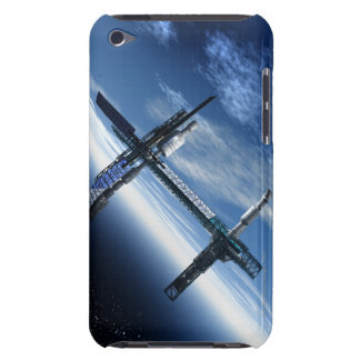 Space station. Computer artwork of a space iPod Touch Case