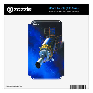 space station fly to goal and success decal for iPod touch 4G