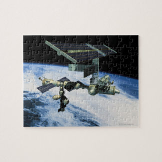 Space Station in Orbit 10 Jigsaw Puzzle