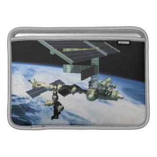 Space Station in Orbit 10 MacBook Sleeve