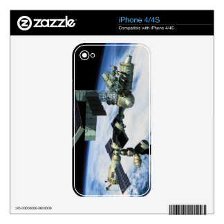 Space Station in Orbit 10 Skin For The iPhone 4S