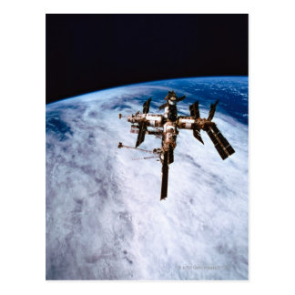 Space Station in Orbit 11 Postcard