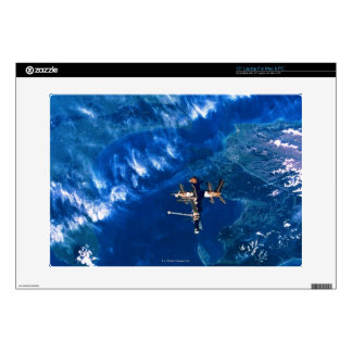 Space Station in Orbit 2 Decals For Laptops
