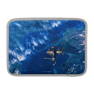 Space Station in Orbit 2 MacBook Air Sleeve