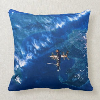 Space Station in Orbit 2 Pillows