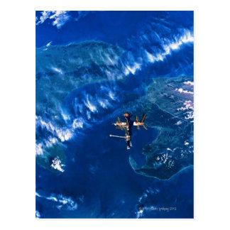 Space Station in Orbit 2 Postcard