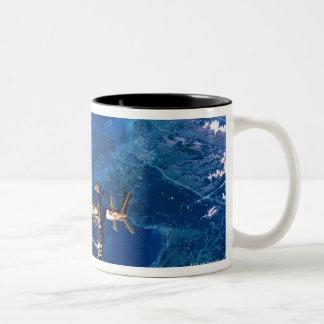 Space Station in Orbit 2 Two-Tone Coffee Mug