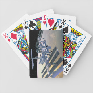 Space Station in Orbit 4 Bicycle Playing Cards