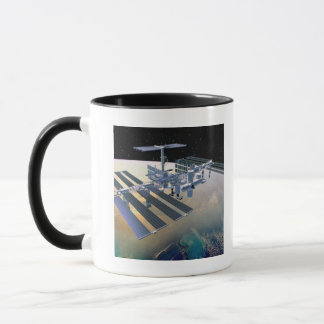 Space Station in Orbit 4 Mug