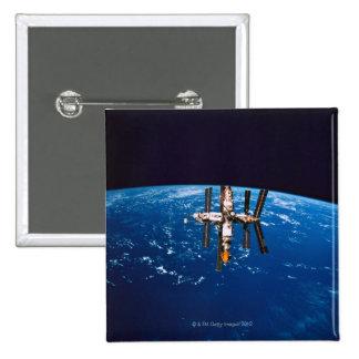Space Station in Orbit 5 Button
