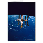 Space Station in Orbit 5 Card