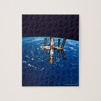 Space Station in Orbit 5 Jigsaw Puzzle
