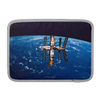 Space Station in Orbit 5 MacBook Sleeve