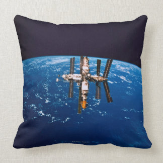 Space Station in Orbit 5 Pillow