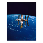 Space Station in Orbit 5 Post Card